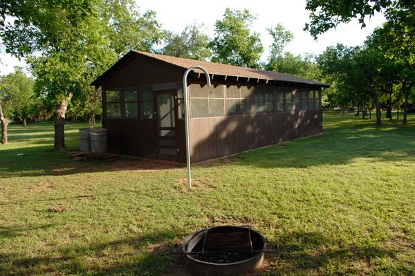 Copper Breaks State Park Group Picnic Pavilion & Grounds ...
