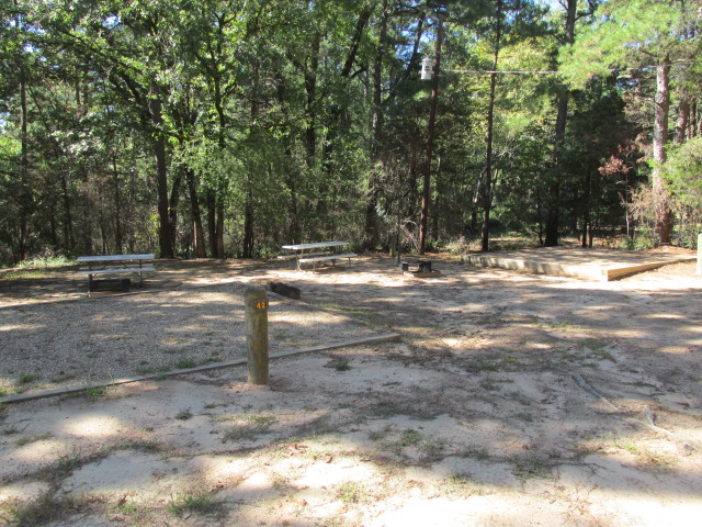 Daingerfield State Park Campsites With Water Texas Parks