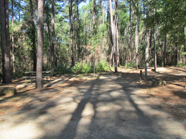Daingerfield State Park Full Hookup Campsites Back In
