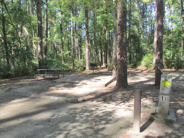 Daingerfield State Park Campsites With Water Electricity