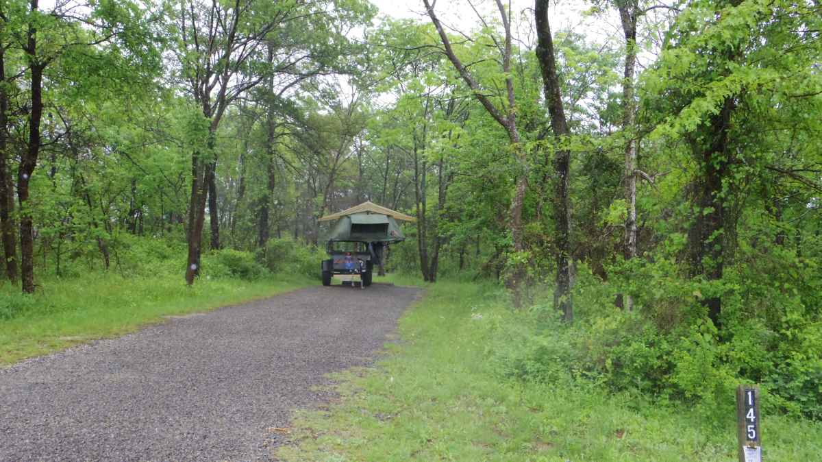Eisenhower State Park Basic Campsites (Water Only) — Texas ...