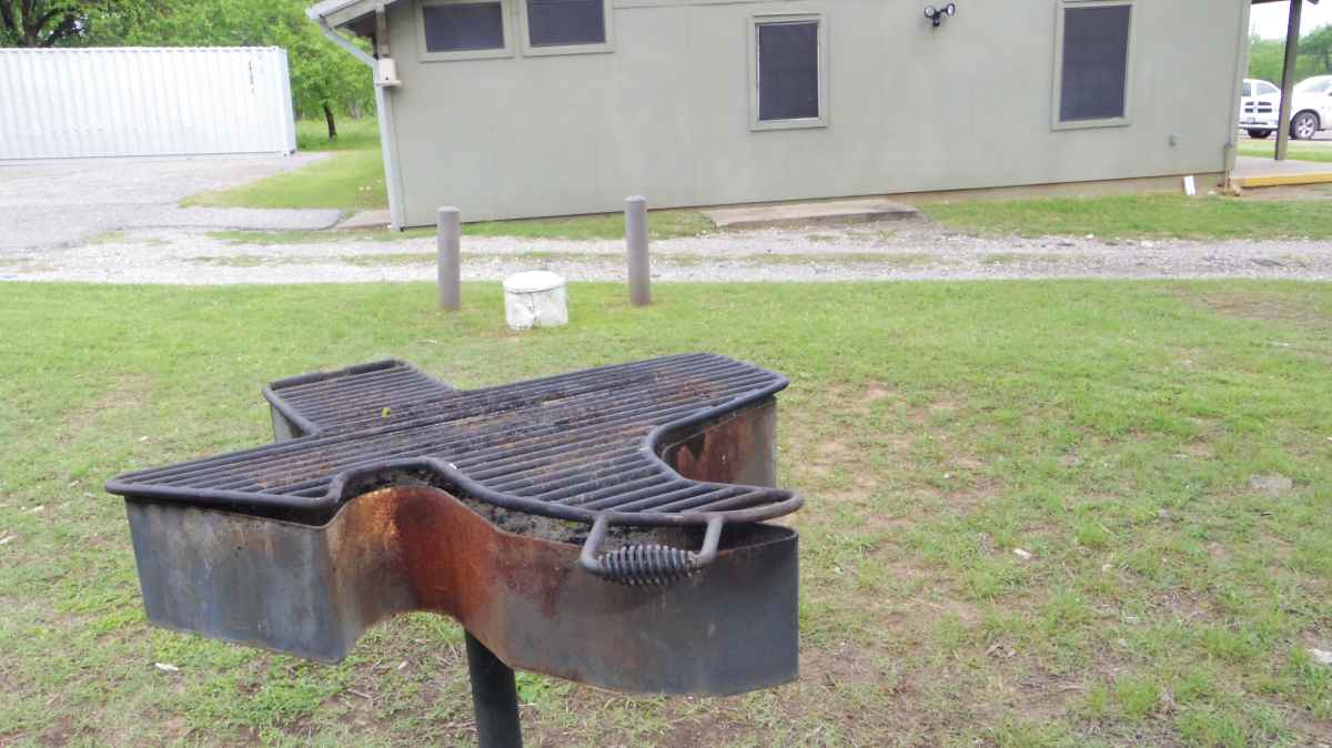 There is even an upright  grill shaped like the state of Texas.