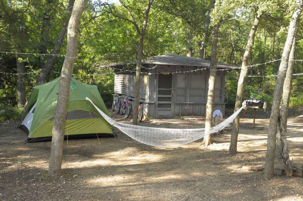 Eisenhower State Park Screened Shelters Texas Parks