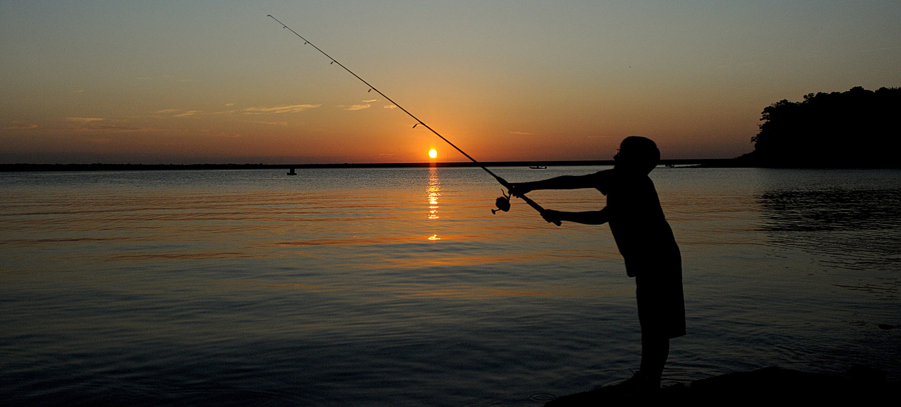 Eisenhower state park texas parks wildlife department for Fishing spots in dallas