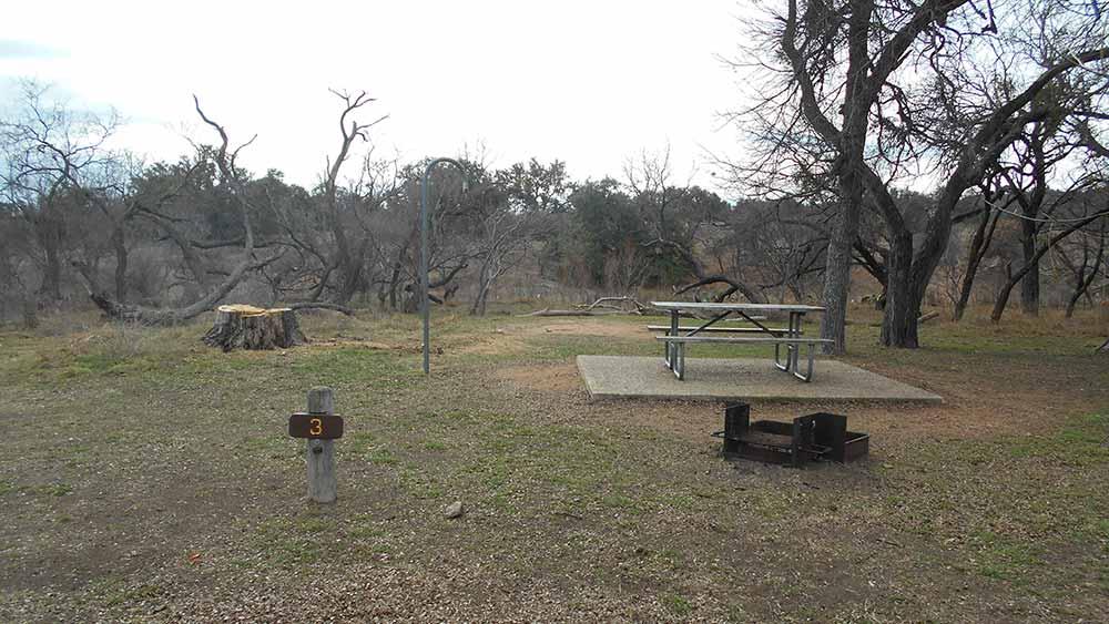 Walk-in Campsite #3