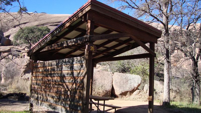 Walk-in Campsite #35