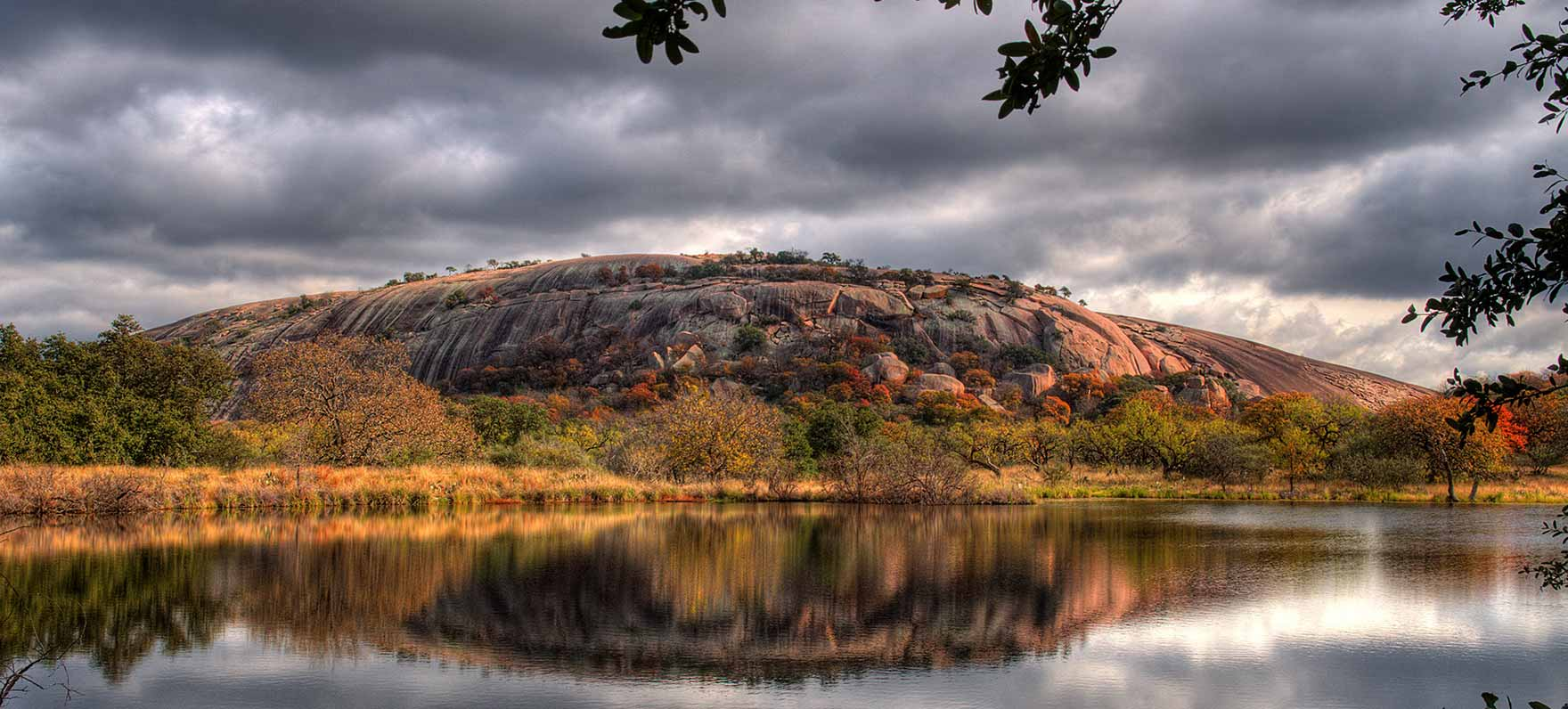 Legend states Tonkawa Indians named this popular 425-foot pink granite batholith, believing a Spanish conquistador cast a spell on it, making magical ghost fires glow at the top.