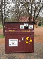 new recycling bin