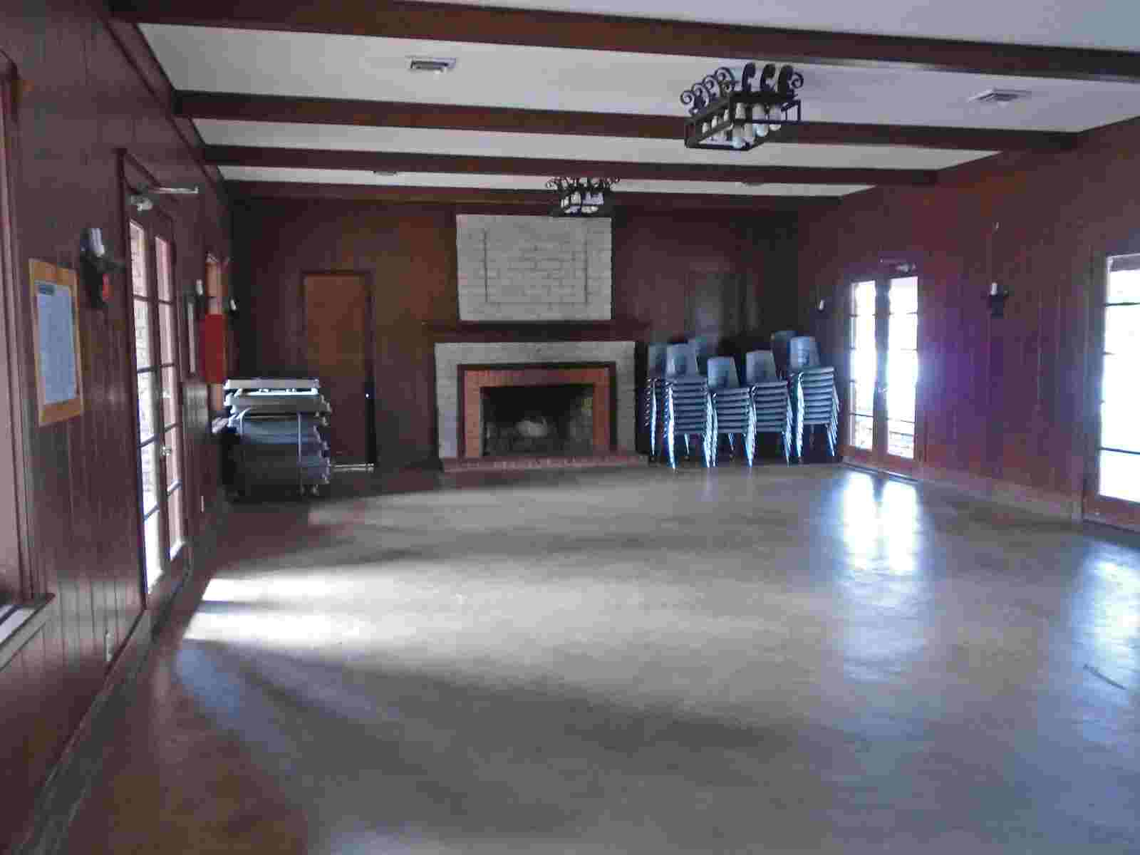 Fort Parker State Park Group Hall With A Kitchen Texas