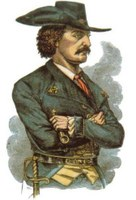 Painting of Jean Lafitte in profile