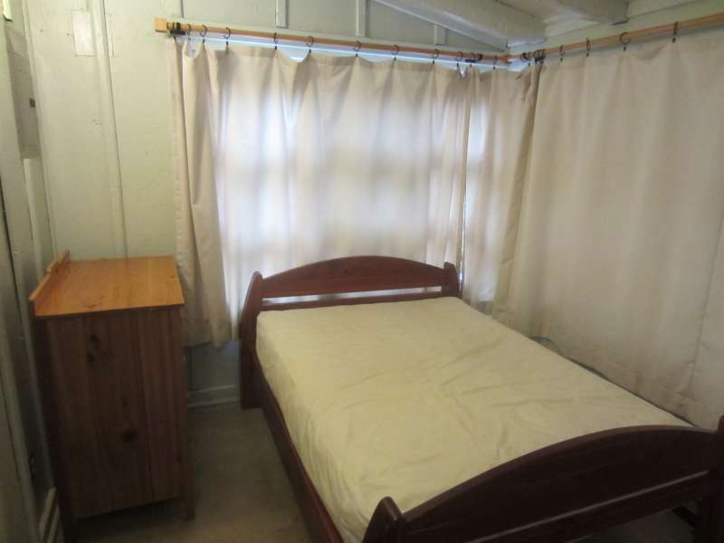 All cabins have 2 double beds.