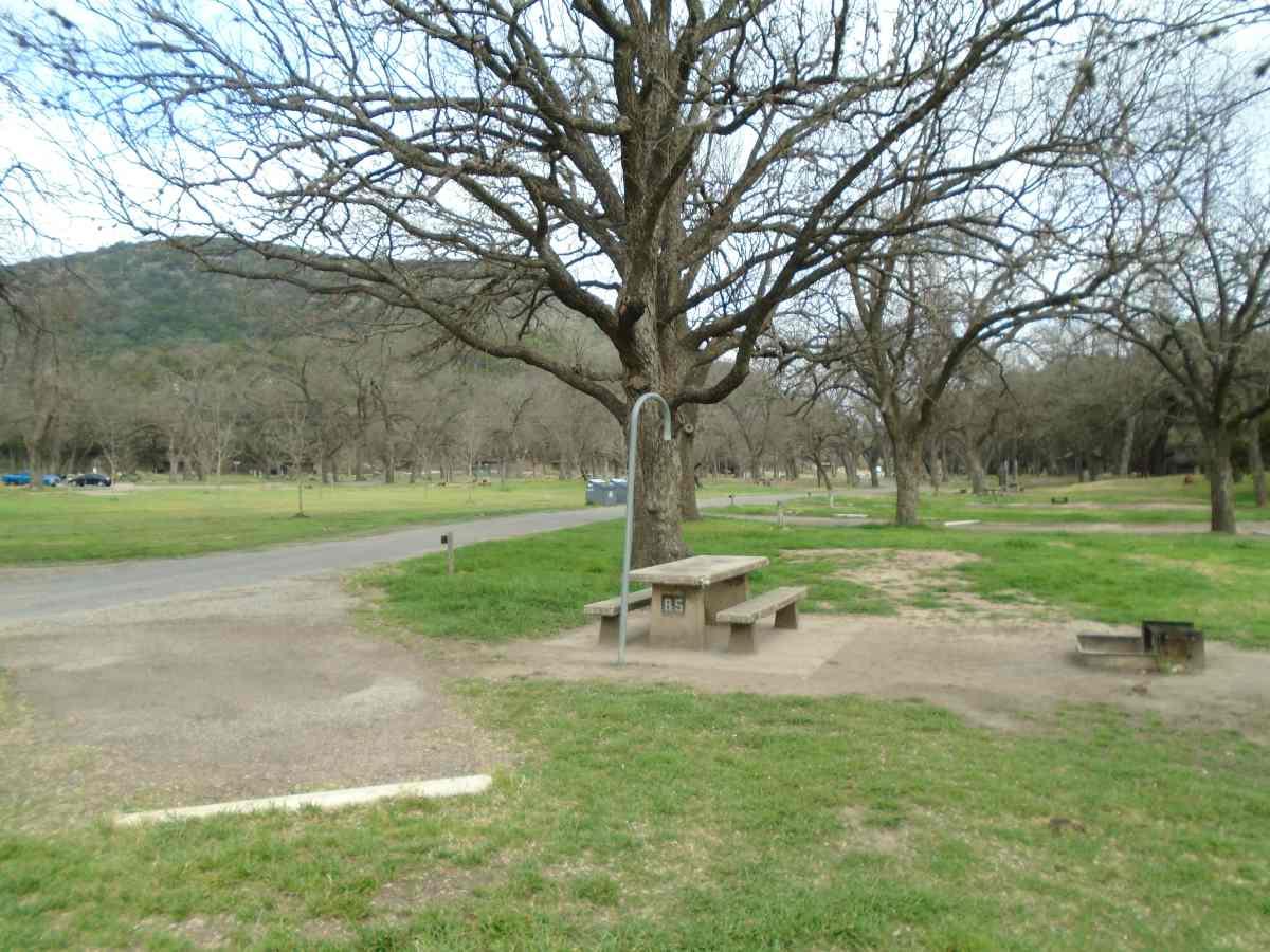 Garner State Park Campsites With Water Old Garner