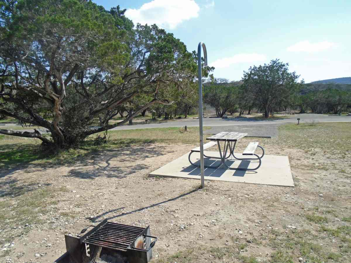 Garner State Park Basic Campsites (New Garner) — Texas ...