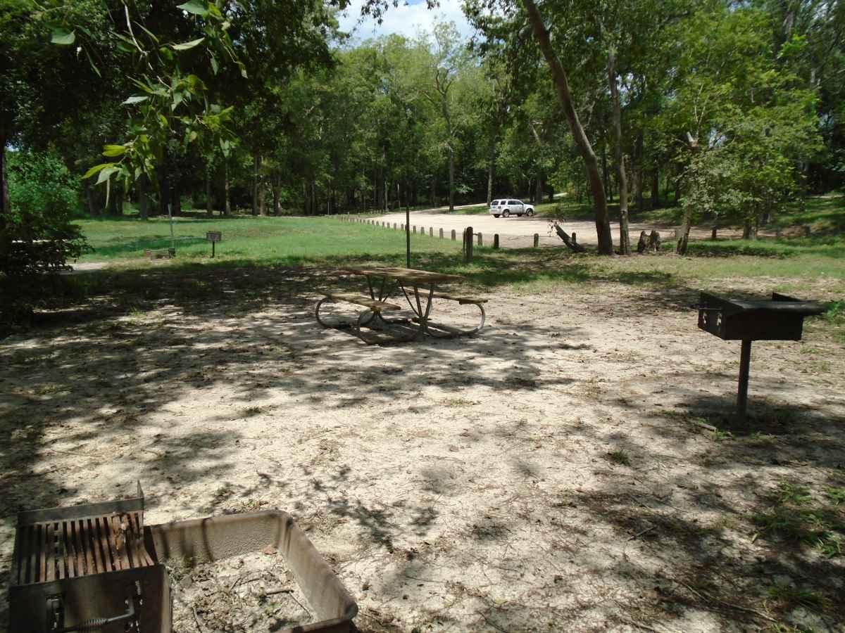 Tent campsite #6 in the Vaquero Camping Area,