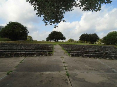 The wheelchair accessible Goliad State Park Amphitheater