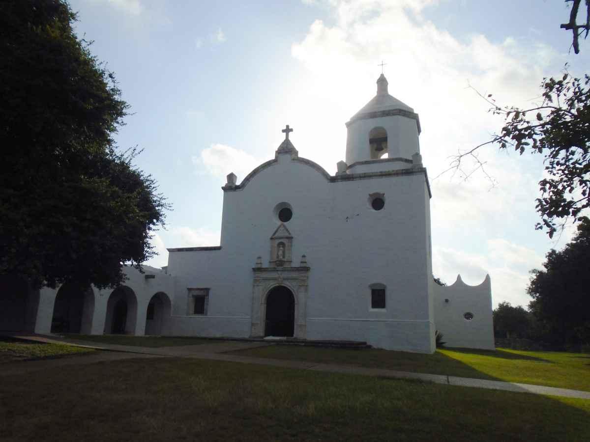 The Chapel of the Mission of Nuestra Señora del Espíritu Santo de Zuñiga.