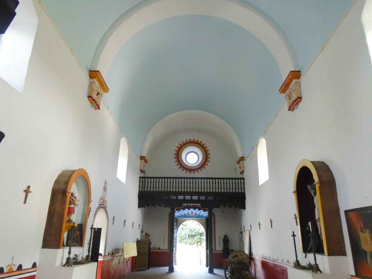 Inside the Chapel.