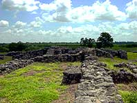 The ruins of the 1750's Mission Rosario