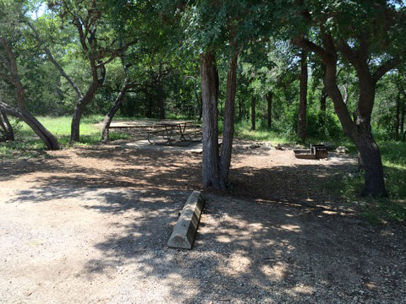 Guadalupe River State Park Standard Campsites Water And