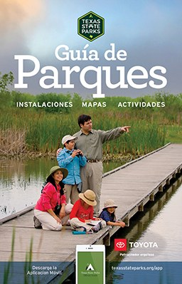 State Park Guide Cover Spanish