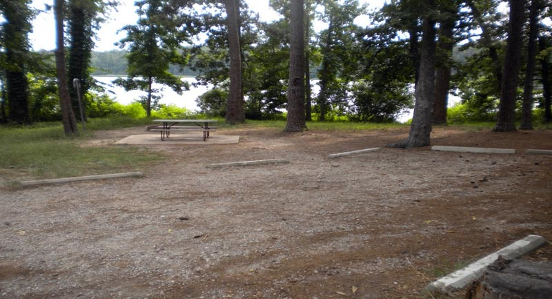Prairie Branch Camping Area.