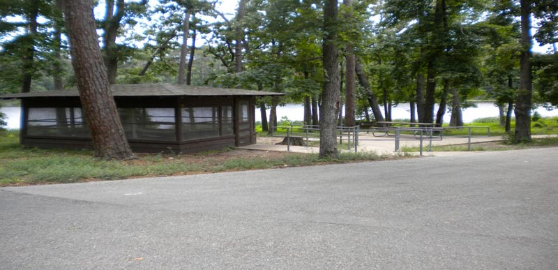 Huntsville State Park Screened Shelters With Electricity