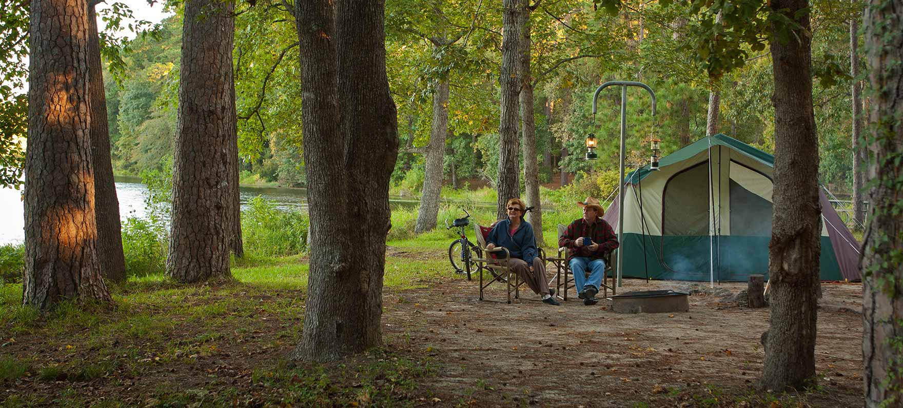 Huntsville state park texas parks wildlife department for Campsites with fishing