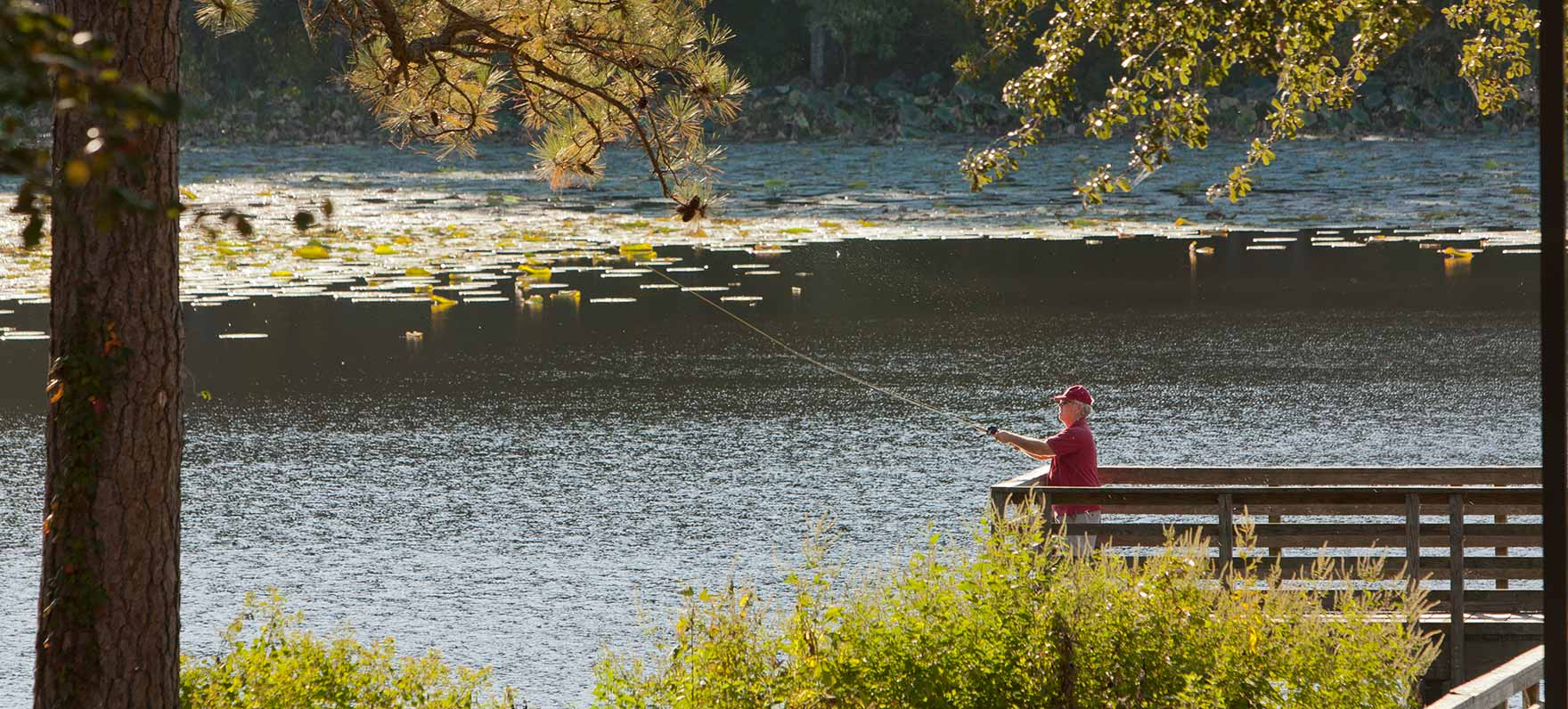 Huntsville state park texas parks wildlife department for Places to go fishing in houston