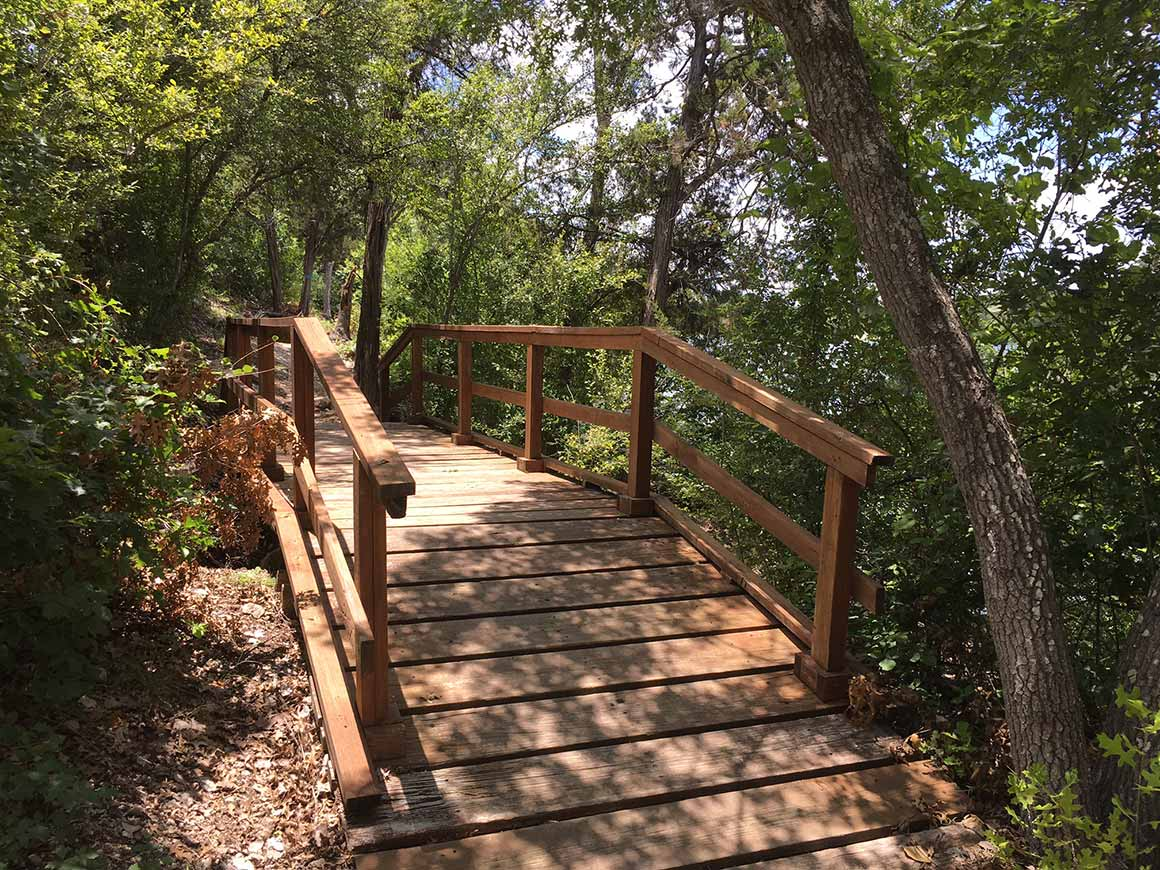 Bosque Hiking Trail - Meridian State Park