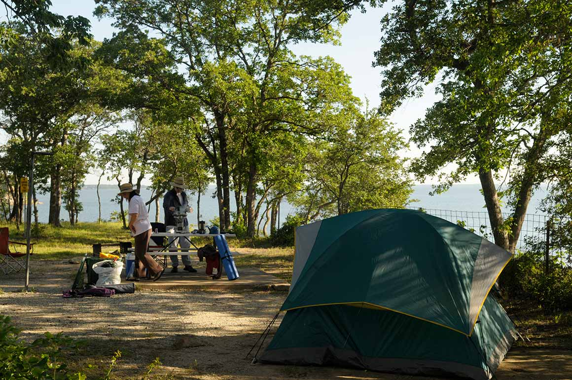 Camping in Eisenhower State Park