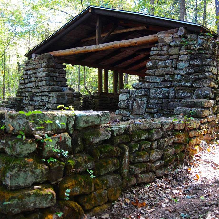 Johnson Pavilion- Caddo Lake State Park