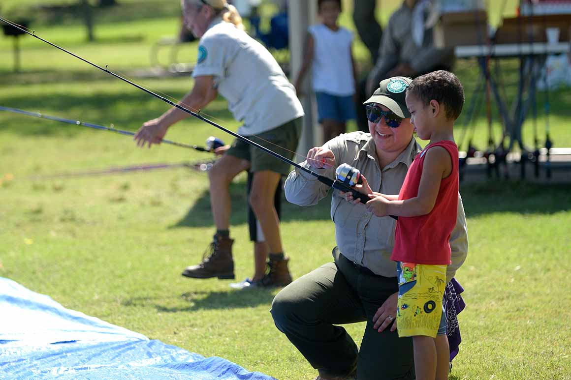 Texas state parks tpwd for Learn to fish