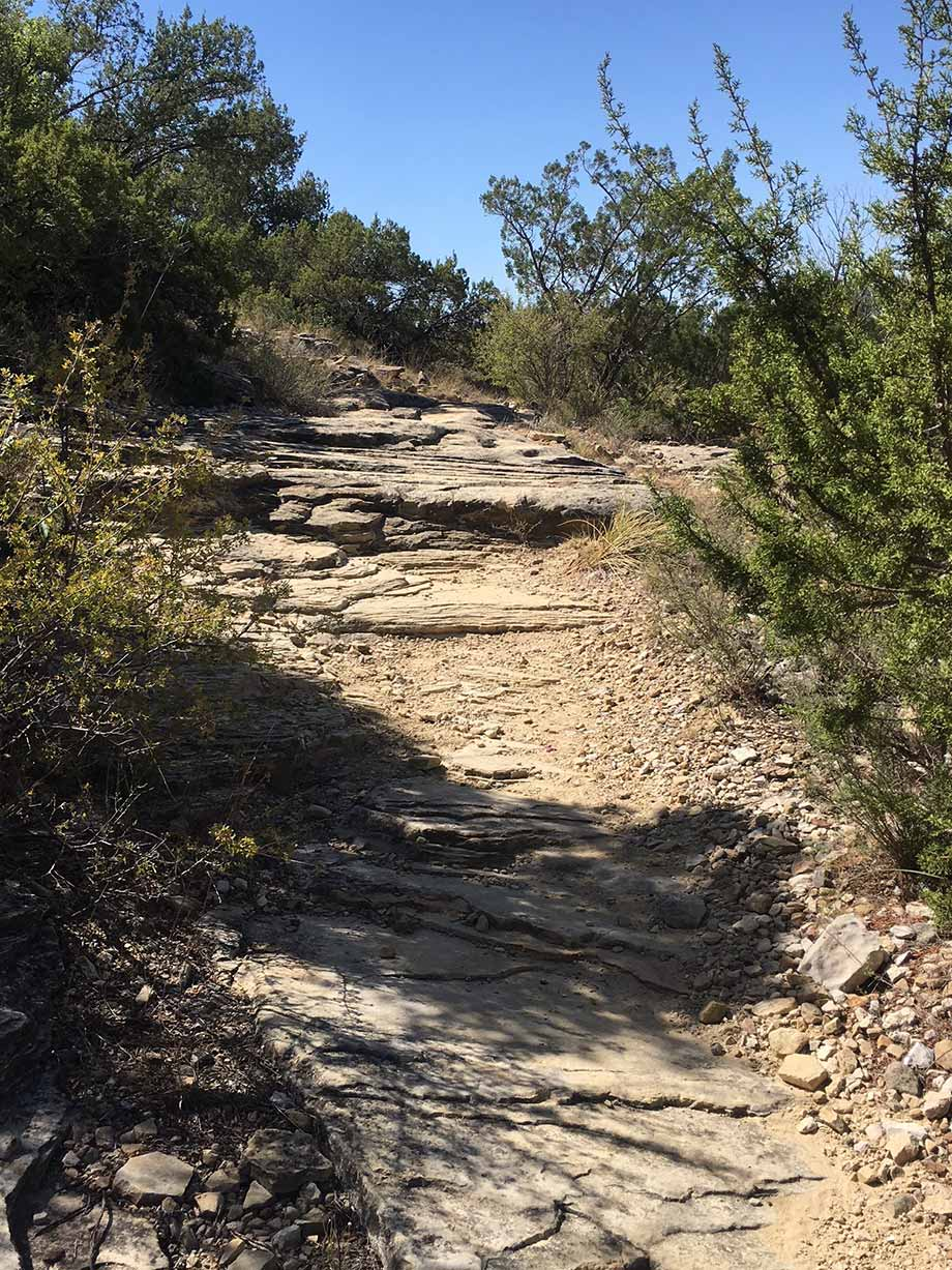 Roller Coaster Trail - San Angelo State Park