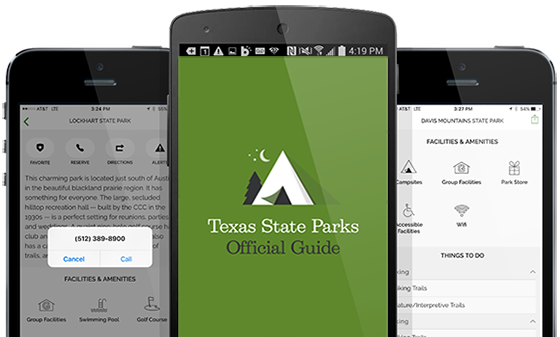 Texas State Parks App