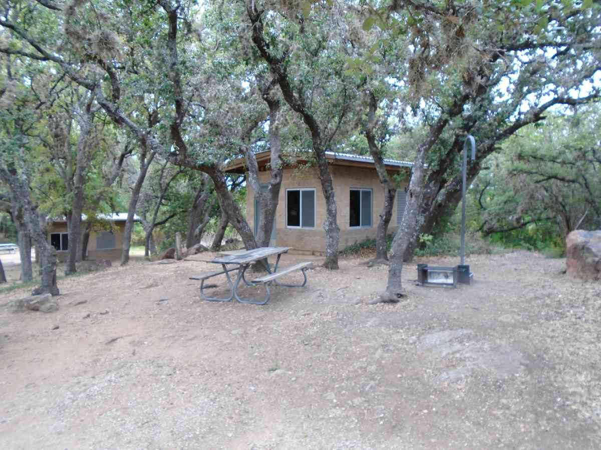 Outside Cabin #13.
