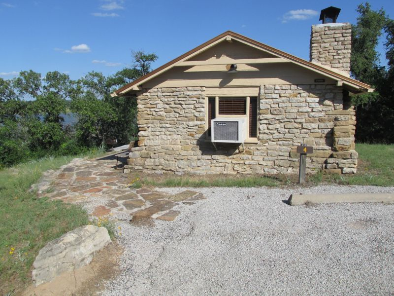 Lake Brownwood State Park Cabins Two Person Texas