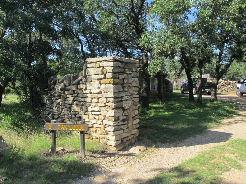 Lake Brownwood State Park Oak Lodge Texas Parks
