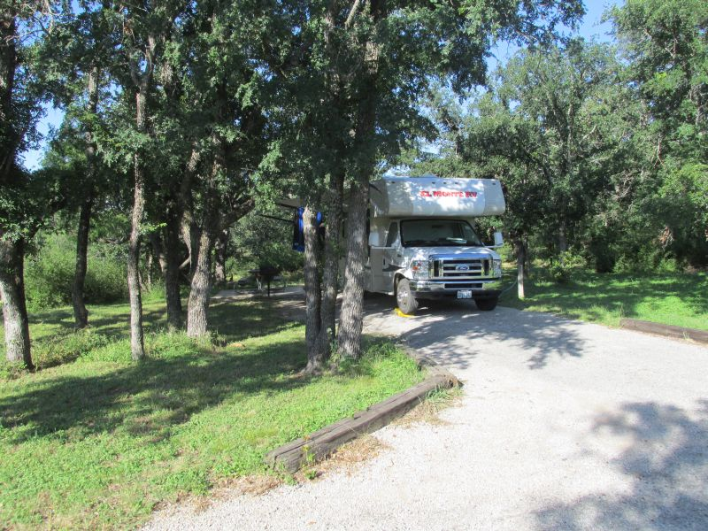 Lake Brownwood State Park Campsites With Electricity