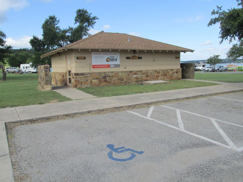 Willow Point has two accessible bathrooms.