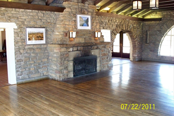 Lake Brownwood State Park Group Hall With Kitchen Rec