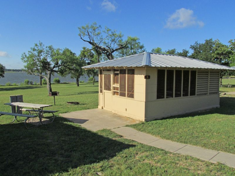 Lake Brownwood State Park Screened Shelters Texas Parks