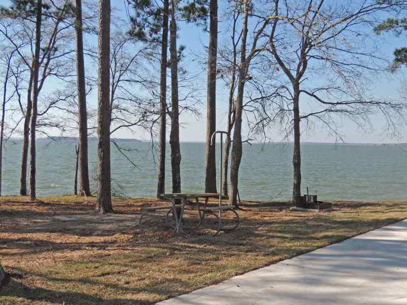 Lake Livingston State Park Full Hookup Campsites Piney