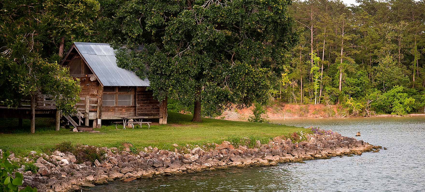 Lake livingston state park texas parks wildlife department for Campsites with fishing