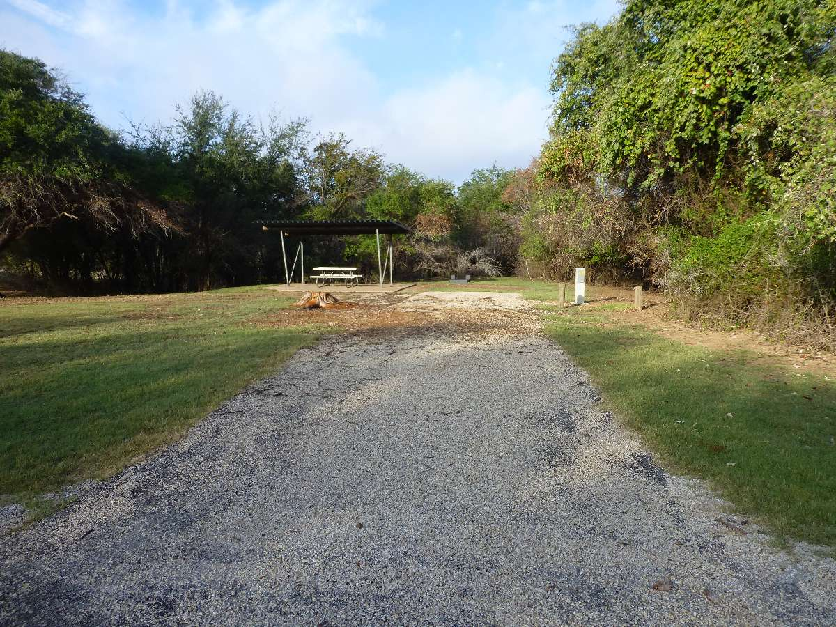 Lake Whitney State Park Campsites with Electricity — Texas ...