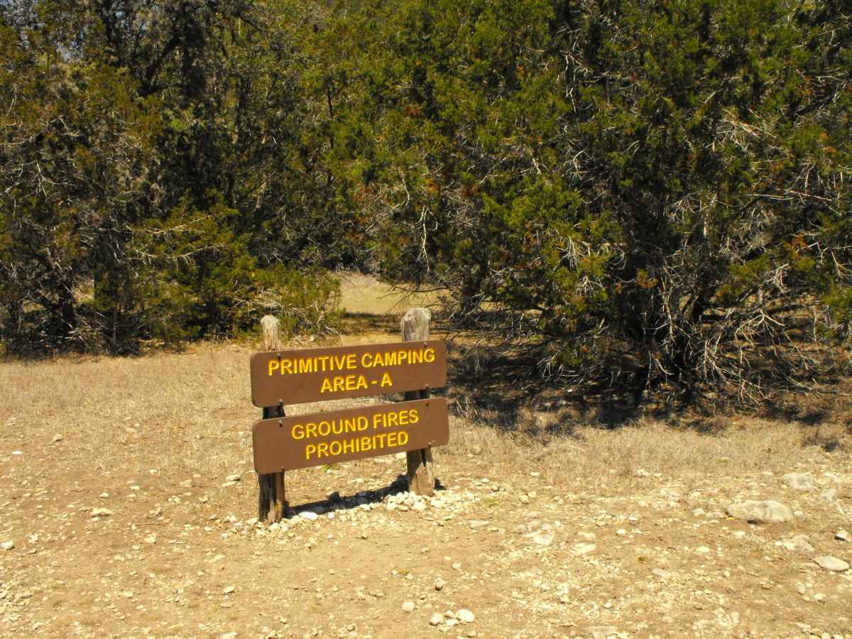 Lost Maples State Natural Area Primitive Campsites (Hike ...