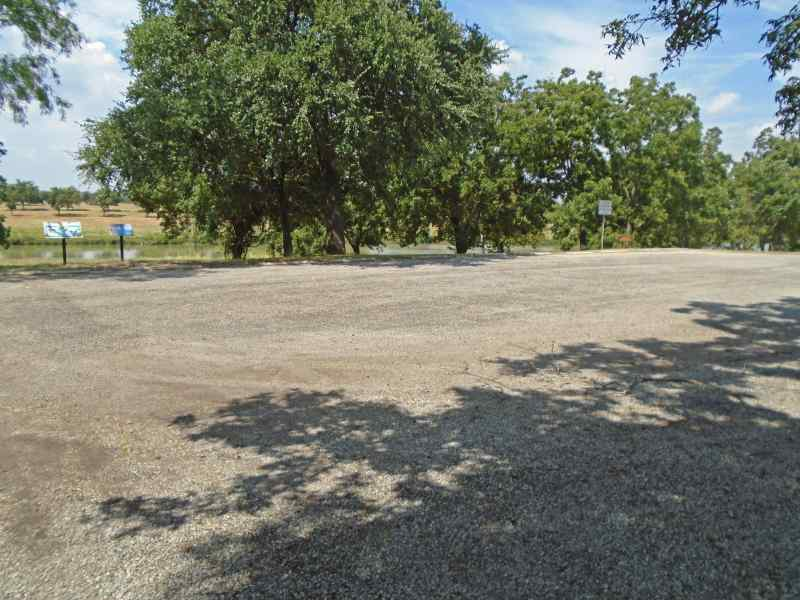 Parking for group picnic area