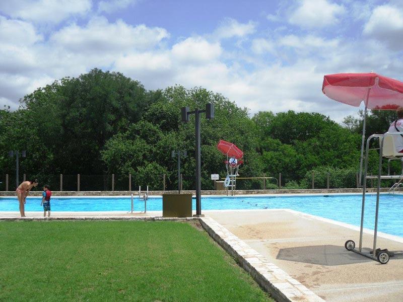 Lyndon B Johnson State Park Historic Site Swimming Pool