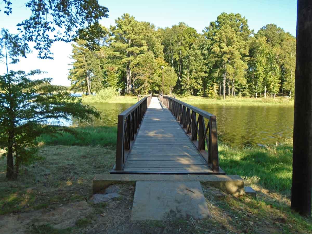 Martin Creek Lake State Park Primitive Campsites Texas