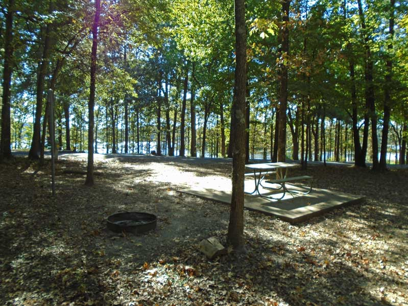 martin creek lake state park campsites with electricity