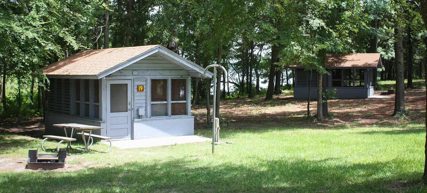 Martin creek lake state park texas parks wildlife for Fishing cabins in texas